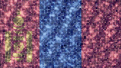 Spangle Flag Mongolia Stock Video Footage