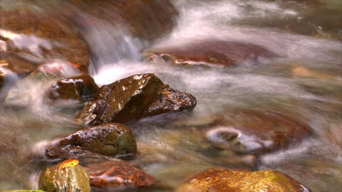 time lapse water flow close Footage