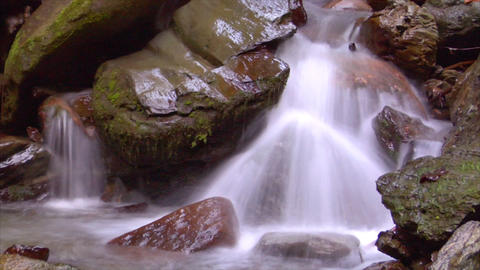 time lapse water flow 04 Footage