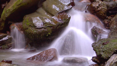 time lapse water flow 04 Stock Video Footage