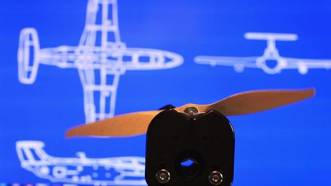 propeller airplane Footage