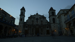 Timelapse Catedral stock footage