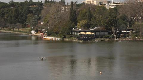 Tiber River Stock Video Footage