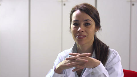 Female Doctor Stock Video Footage