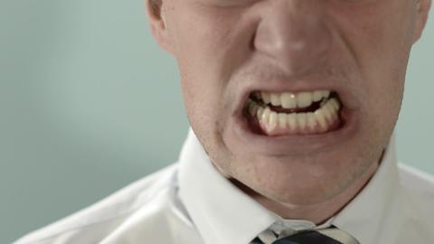 Businessman Screaming Footage