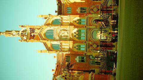 Hospital de la Santa Creu i de Sant Pau, Barcelona Footage