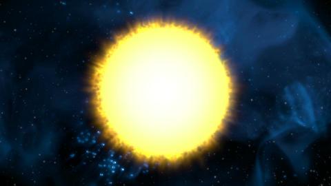 Blazing Sun Stock Video Footage