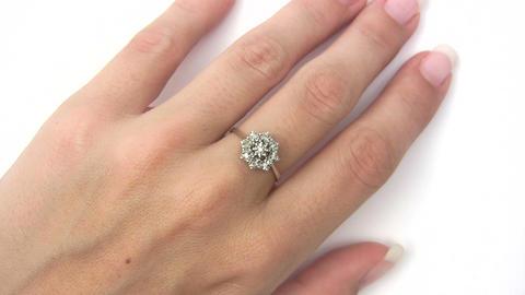 Precious Diamond Ring Stock Video Footage