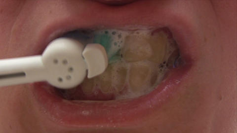 Dental Hygiene Stock Video Footage