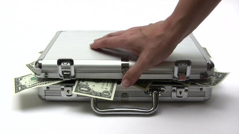 Opening Money Case Footage