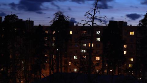 night windows Footage