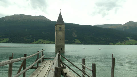 Alps Resia 01 Stock Video Footage