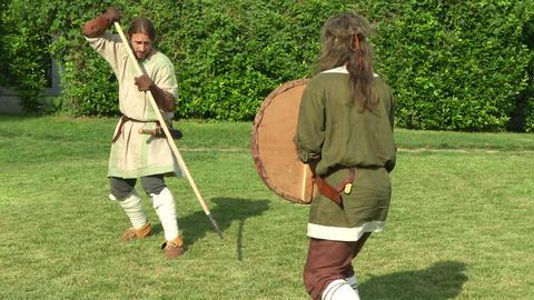 celt camp training 21 Stock Video Footage