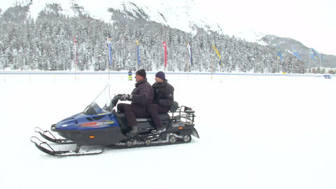 snowmobile 02 Footage