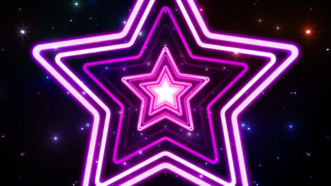 Neon tube T Fs B L 4 4 K Stock Video Footage