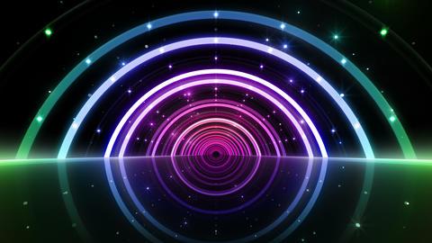 Neon tube T Fy B L 4 4 K Stock Video Footage