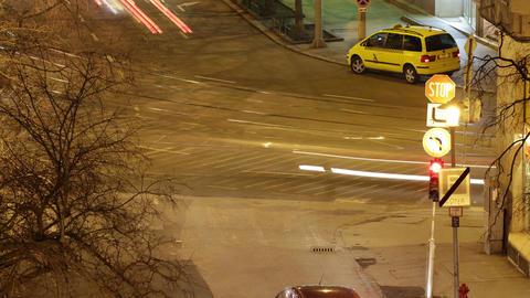 4 K Budapest by Night Timelapse 38 Stock Video Footage
