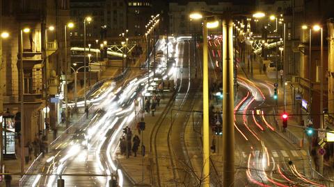 4K Budapest by Night Timelapse 42 Stock Video Footage