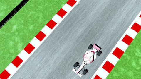 4K Formula 1 Car on Race Track v2 1 Stock Video Footage