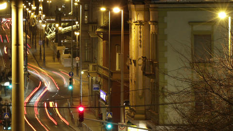 Budapest by Night Timelapse 84 Stock Video Footage