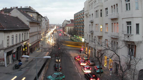 Budapest Evening Timelapse 79 Stock Video Footage