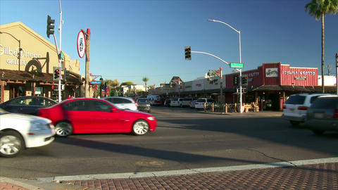 Scottsdale Corner Stock Video Footage