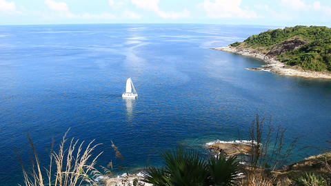 serene of the Andaman sea Footage