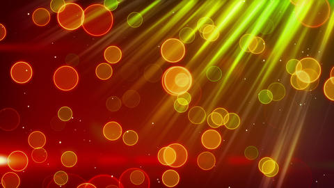 green red blinking bokeh lights loop Animation
