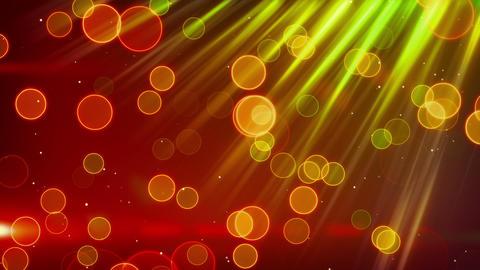 green red blinking bokeh lights loop Animation