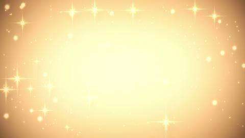 gold glares festive loop background Animation