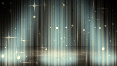 flashing glares in spotlights loopable background Stock Video Footage