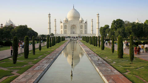 Taj Mahal, UNESCO World Heritage Site, Agra, Uttar Live Action