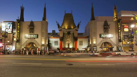 Hollywood Boulevard, Hollywood Walk of Fame, Graum Footage