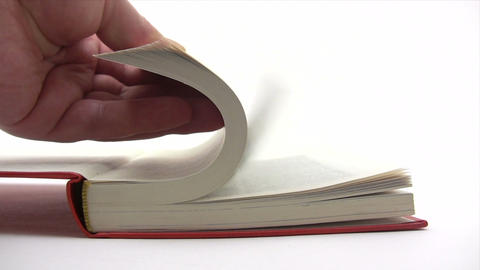 Browsing Book Pages Footage