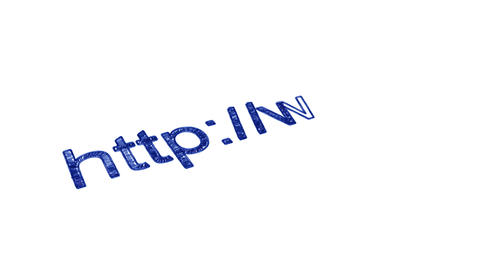 Web Address Animation
