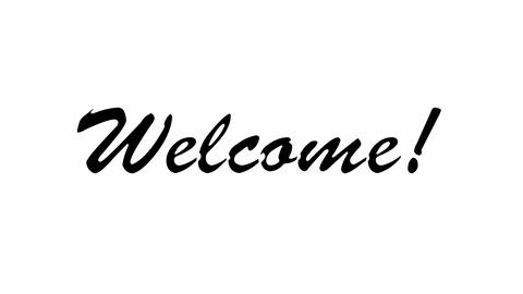 Welcome Sign Animation