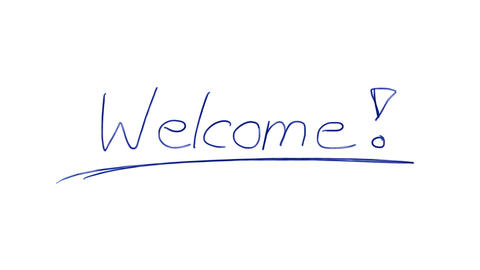 Ballpoint Welcome Animation