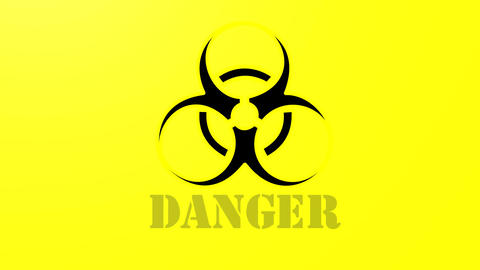 Bio Hazard stock footage