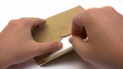 Receiving a Letter Footage