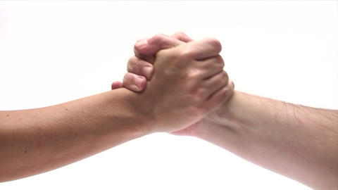 Shaking Hands Footage