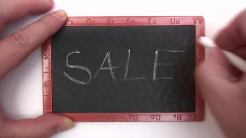 Chalkboard - Sale Footage