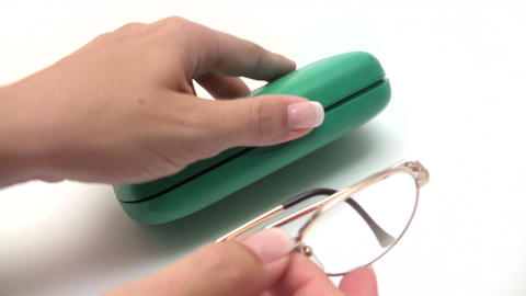 Reading Glasses Footage