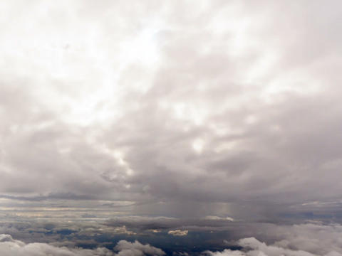Between clouds. Sicily, Italy. Time Lapse. 640x480 Footage