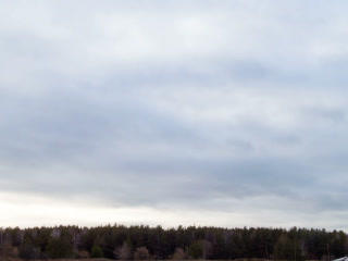 Clouds quickly rush on the sky. Time Lapse. 320x24 Footage