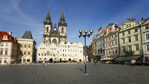 Old Town, Stare Mesto Square looking towards the G Footage
