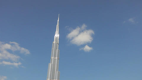 The Burj Khalifa, Completed In 2010, The Tallest M stock footage