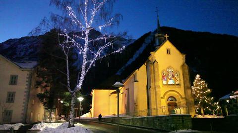 Chamonix Mont-Blanc, French Alps, Haute Savoie, Ch stock footage