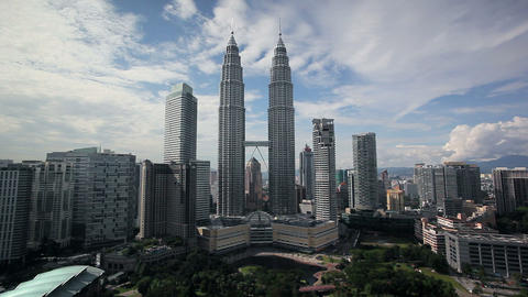 Kuala Lumpur City Centre Urban Development Which I stock footage