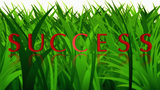 Success 3D Rotating The Word On Background Prompt stock footage
