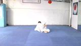 Karate Man practicing moves in Karate Footage